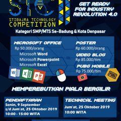 STIBAJRA Technology Competition 2019